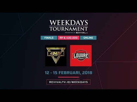 Weekdays Tournament by RevivaLTV - Day 4 - GRAND FINAL - [404]NF vs LOUVRE