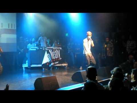 "Big Sean and Chris Brown Live Performing ""Shit Got Damn""  @ El Rey Theatre"
