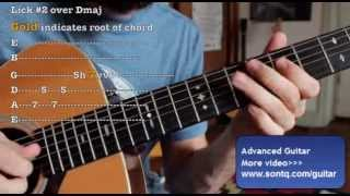 Học đàn guitar    Học đàn Guitar Lead Nâng cao - Tập 2