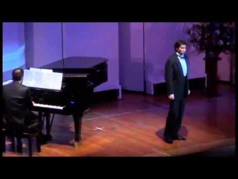 Recital tenor Ricardo Bernal