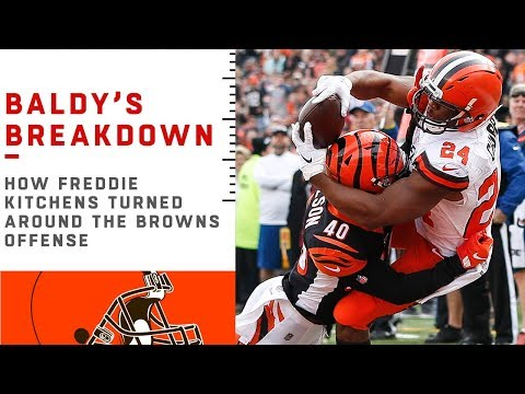 How Freddie Kitchens Turned Around the Browns Offense | NFL Film Review