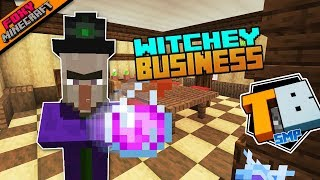 WITCHY BUSINESS | Truly Bedrock Season 1 [60] | Minecraft Bedrock Edition SMP