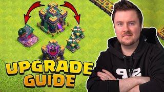 Rathaus 14 Upgrade Guide | Rathaus 14 Farm Bases + Link | #clashofclans