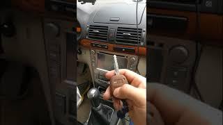 Тойота Авенсис как запрограммировать ключ