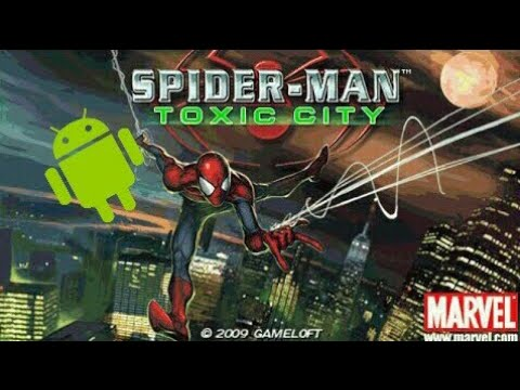 Spider Man Toxic City HD Apk (2D Java Game) By (Gameloft)