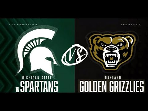 Michigan State Vs Oakland  Highlights