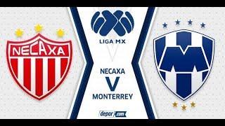 Necaxa vs Monterrey | Liga Mx Jornada 16