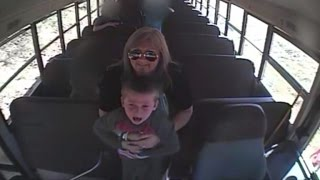 Watch Bus Driver Save A 5-Year-Old Boy's Life After Choking On Penny(Call it instinct. A bus driver rushes to save a little boy gasping for air after chocking on a penny. The dramatic moments of the driver performing the Heimlich ..., 2016-04-14T17:00:54.000Z)