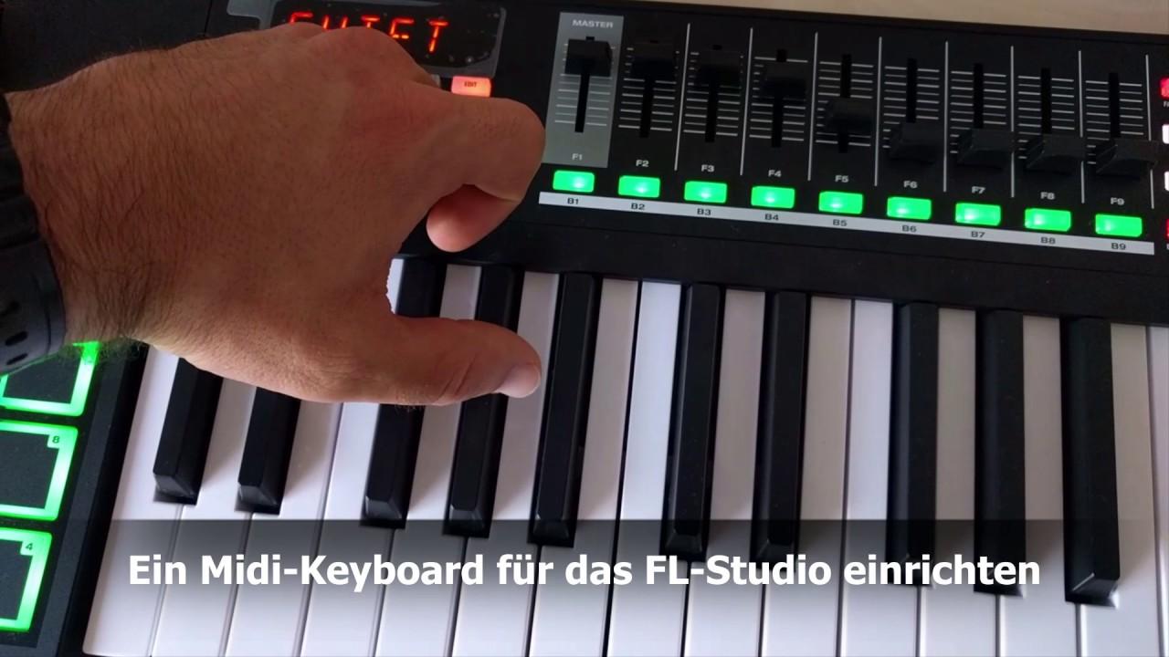 midi keyboard for fl studio