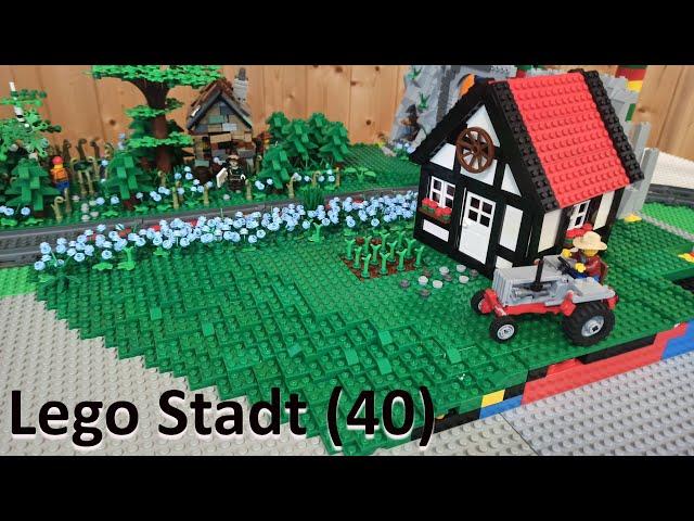 Lego Stadt Teil [40] - Der ländliche Bereich #1 | XXL STADTUPDATE