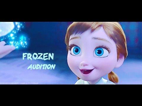Audition la reine des neiges anna enfant elsa off youtube - La reine des neiges petite ...