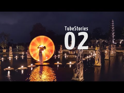 Light-painting in Bali - Tube Stories 2