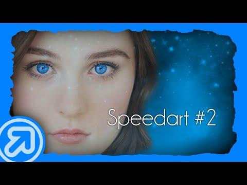 Speedart 2  Change Eye Color  Gimp  Grace Victoria Cox HD