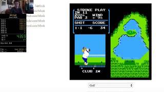 NES Golf Speedrun 8:30 (4th in World)