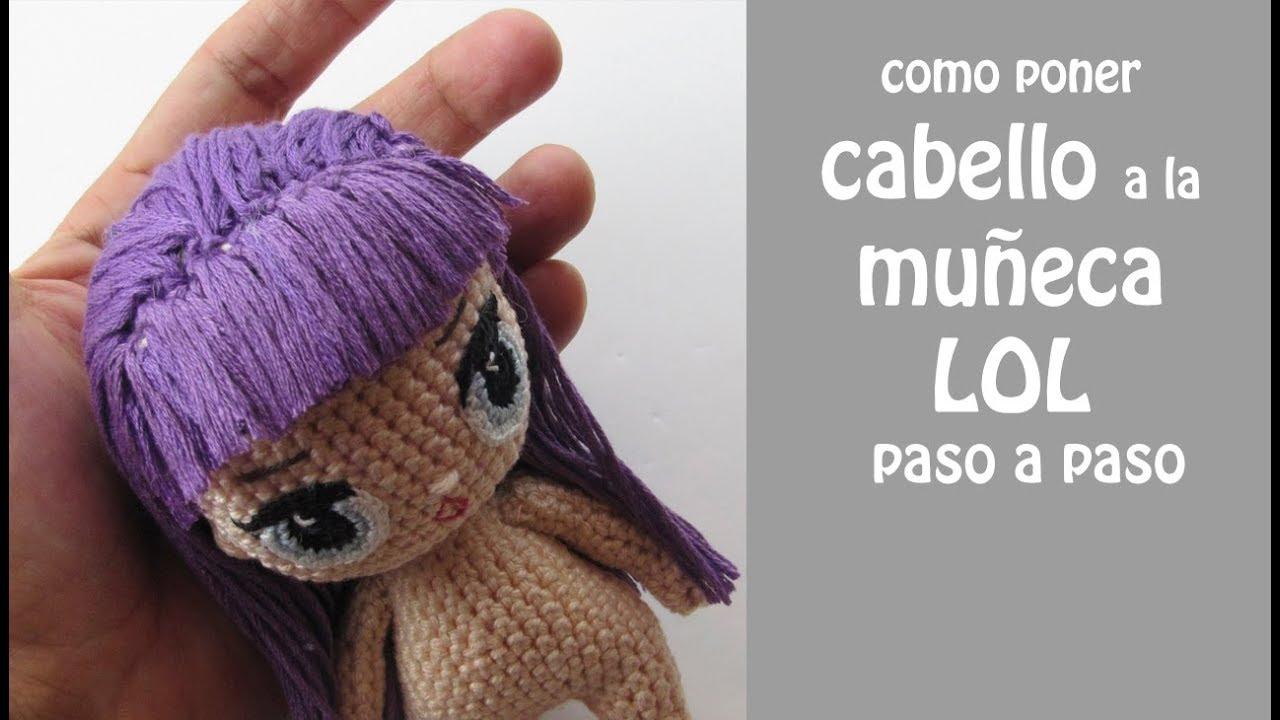 Crochet Pattern Cute Doll- Lol inspired Amigurumi Doll- Crochet ... | 720x1280