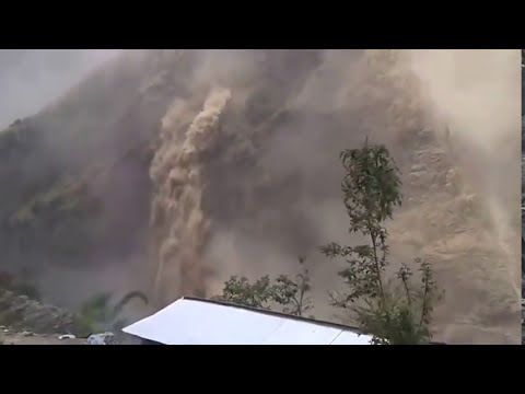 Nepal Earthquake April 25 2015 - Mountains collapse one ...