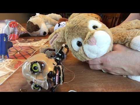 Custom Creepy Animatronic Bunny Monster Thing