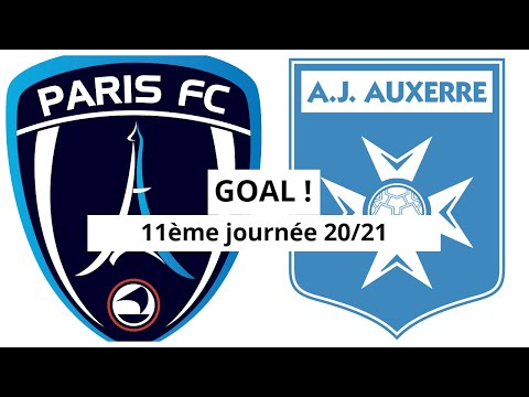 Paris FC Auxerre Goals And Highlights