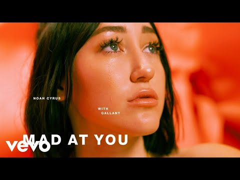 Noah Cyrus, Gallant - Mad at You (Official Audio)