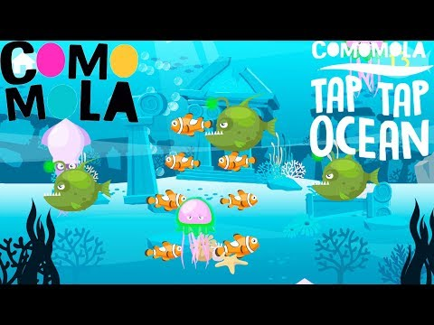Surprise Animals & Underwater Landscapes / Tap Tap Ocean Fish |
