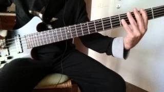 Toto- The Muse Live version Bass Cover by Salvo Callea