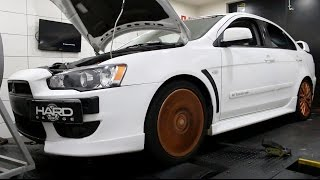 Mitsubishi Lancer com kit turbo Ralliart no dinamômentro [Ranking Preparado FULLPOWER]