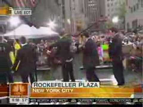 New Kids on the Block perform on the Today show (part 1 of 3
