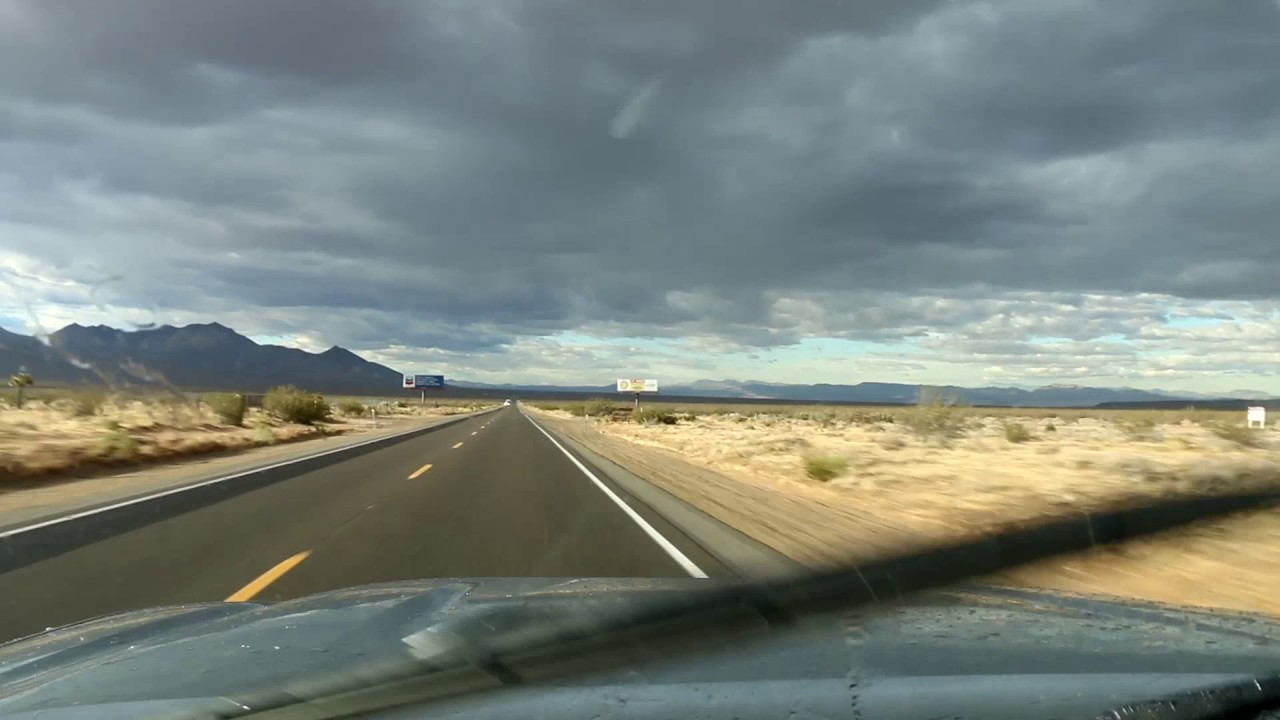 Bakersfield California And The Mojave Desert