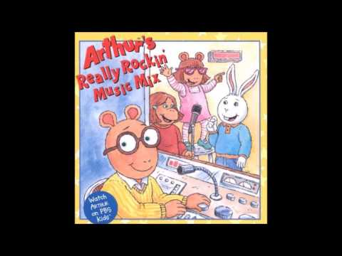 Arthur's Really Rockin' Music Mix- All Tracks Played At Once
