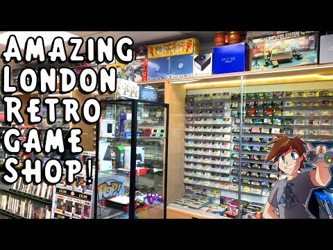 I Found An Amazing Retro Game Shop In London! (Crazy Thumbs) - Plus More Exciting Pickups!