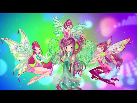 Winx Club- Roxy All Transformations Up To Starlix! [Unofficial] thumbnail