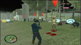 GTA San Andreas DYOM: How not to do a heist / Zombies vs Farmers