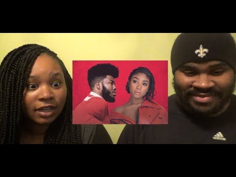 KHALID X NORMANI - LOVE LIES (MUSIC VIDEO) YASSSSSSSS MANI BEAR - REACTION