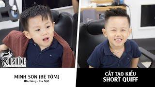 Cắt tạo kiểu Short Quiff | Minh Sơn (Bé Sóc) | 4 tuổi