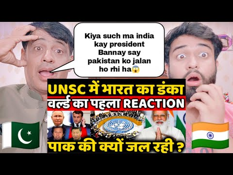 Download India Become President In UNSC Pakistan And World First Reaction On Indian Presidency | Pak Reacts |