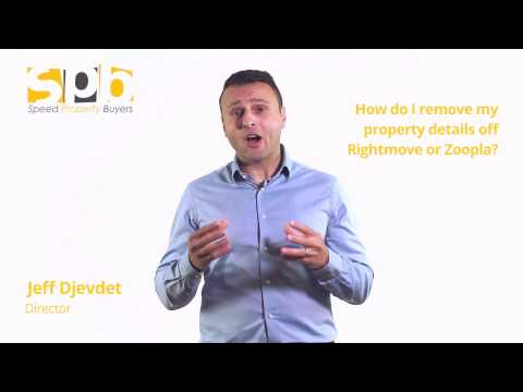 How Do Remove Property De Off Rightmove And Zoopla
