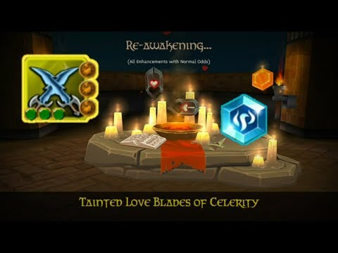 Arcane Legends - Encantando Blades Tainted//Re Awakening