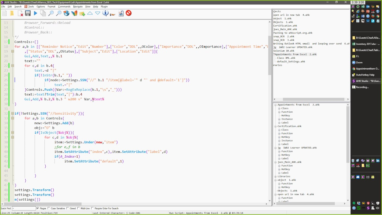 Using XML Class in AutoHotkey to save user settings