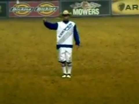 Flint Rasmussen Dance Moves - PBR Iron Cowboy Invitational 2-19-2011