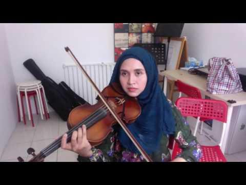 Tetap Dalam Jiwa ( violin cover by Endang Hyder )