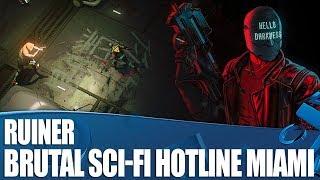 Ruiner - We Play This Brutal Sci-Fi Hotline Miami