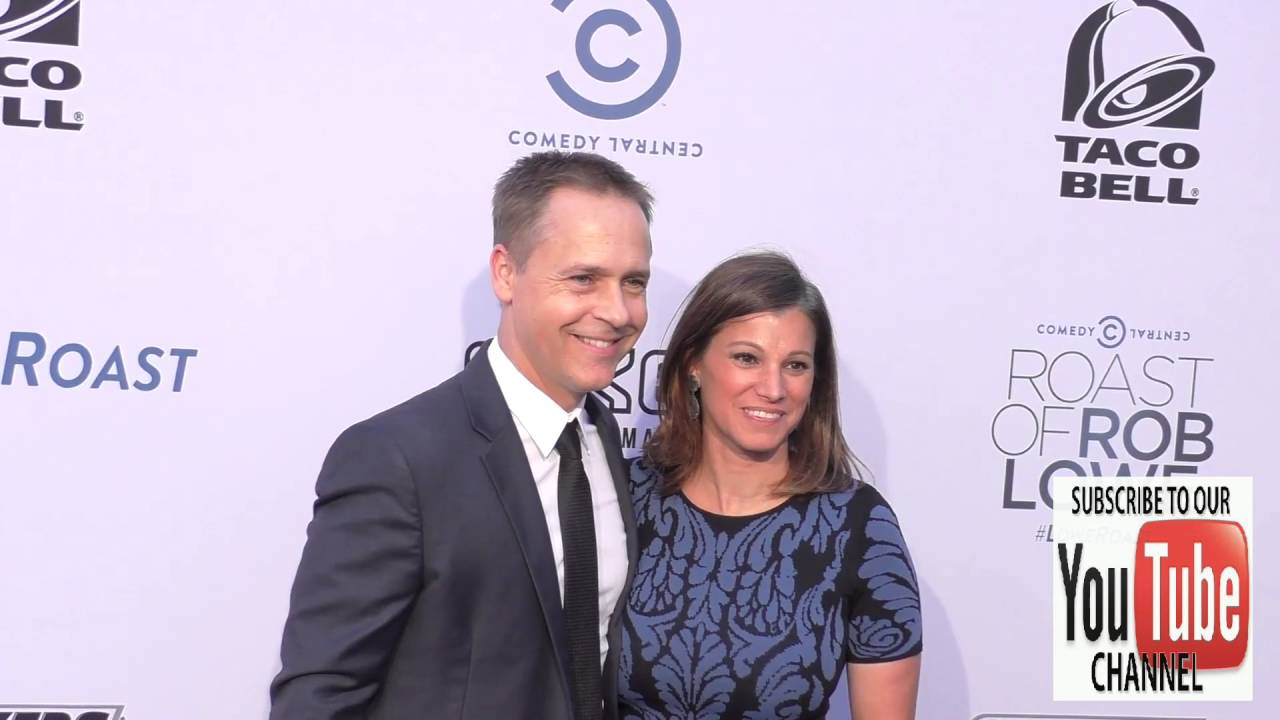 chad lowe and kim painter at the comedy central roast of