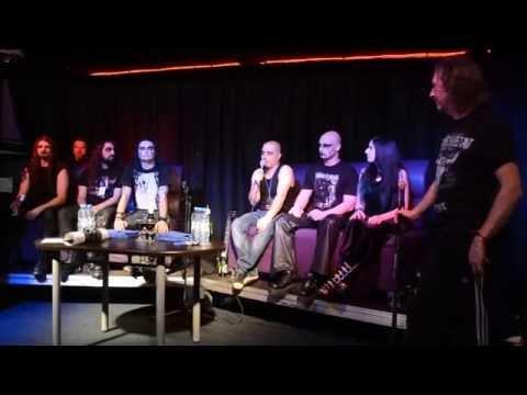 Cradle of Filth meeting fans in Novosibirsk