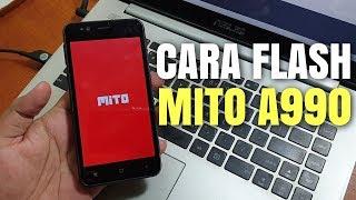 Part 2 - Cara Flash Mito A990 // Firmware Tested Mantab Jiwa