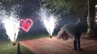 Свадьба Дон-Кихот 17.06.17 фонтан, фейерверк, пиротехническое шоу