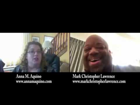 Real Solutions with Anna M. Aquino interviews Actor/Comedian/Writer Mark Christopher Lawrence
