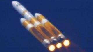 「デルタIV・ヘビー」ロケットの打ち上げ - Delta IV Heavy Rocket Launch thumbnail