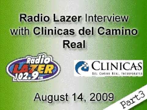 Radio Lazer & Clinicas Interview 8/14/09 (Part 3 in Español)