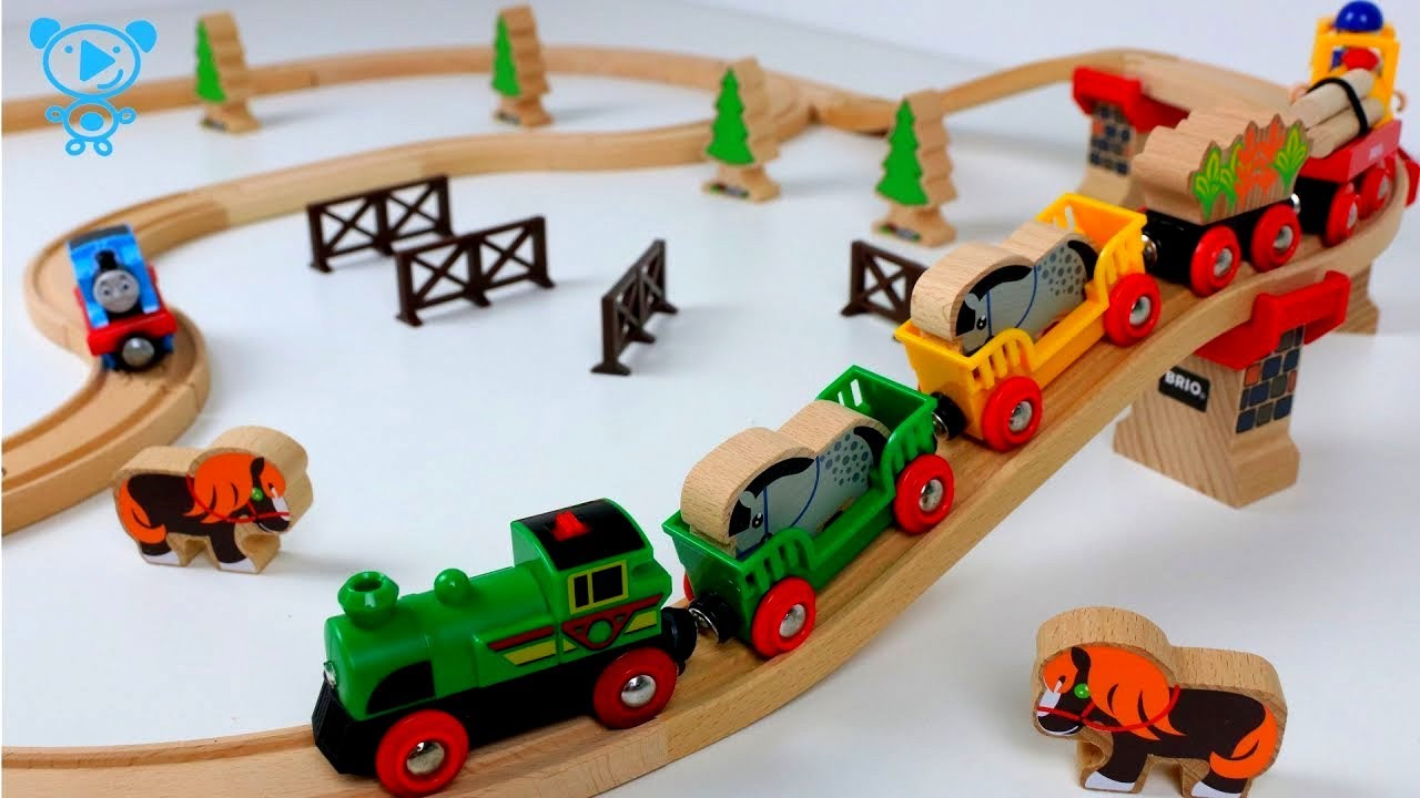 Brio Train Set 33118 Brio Wooden Railway Set Unboxed By Thomas The Tank Engine Trains For Kids