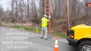 Ladder Handling & Belt Off